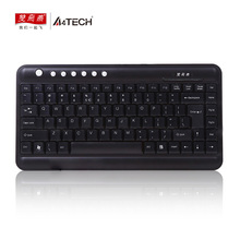 A3tech KL-5 Ultra-thin Mini keyboard Laptop external keypad 86 keys USB Wired Nootbook games or office external keyboard(China)