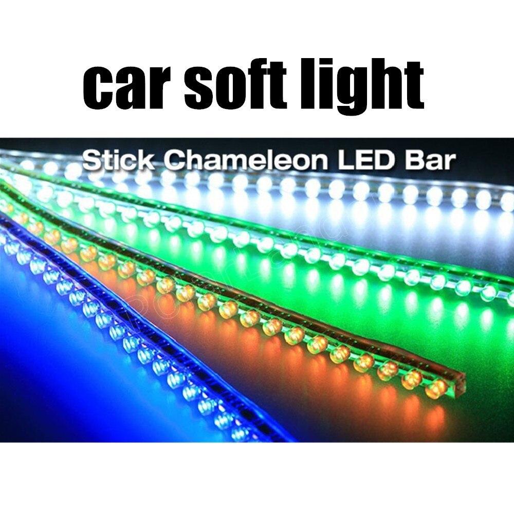 2pcs Waterproof flexible Car LED Strip lights 96cm Great Wall LED Strip 96LED car lamp 12V 5W best quality sale<br><br>Aliexpress