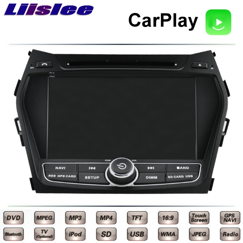 For Hyundai ix45 Santa Fe Grand SantaFe DM 2012~2017 Car Multimedia TV DVD GPS Radio Original Style Navigation Liislee Navi 1