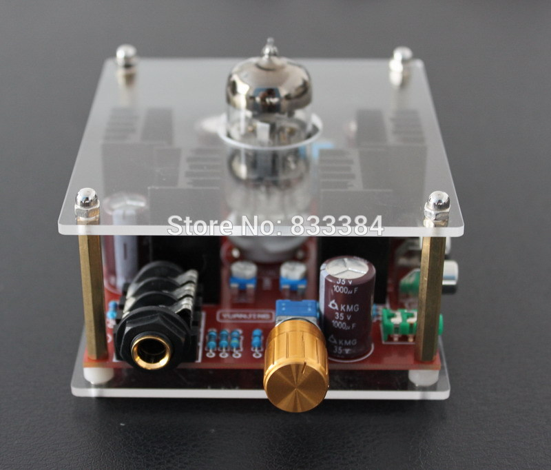 Low price new DC24V Hi-Fi Class A 6N11 Tube headphone amplifier Integrated Circuits<br>