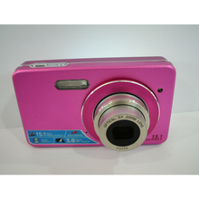 High quality 3' Touch Screen 15.1MP Digital Camera 5X Optics Zoom 4X Digital Zoom Face Detection Fotograficas Digitales Video ca(China)