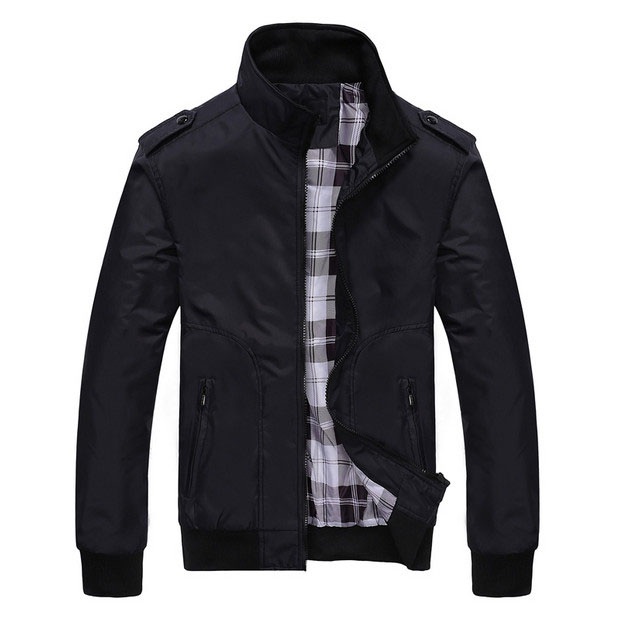 Men Spring Autumn Jackets and Coat casual Jacket Short Slim Mens Brand Clothing Outerwear Homme Bomber Jacket