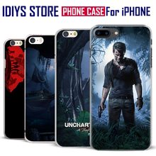 For Apple iPhone 7PLUS 7 6SPLUS 6S 6PLUS 6 5 5S SE 4 4S Ps4 Game Uncharted 4 A Thief's End Coque New Phone Case Cover Shell Bag