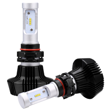 iSincer Car LED Headlight Car Headlamp with Philips Chips 80W 8000LM H4 9003 HB2 Headlight Kit H/L Beam Bulbs 6000K Foglight