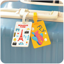 Creative Travel Bag Luggage Case Label Straps Flight Check Consignment Boarding Suitcase Name ID Address Tags