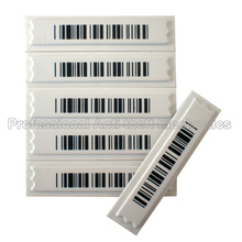 AM 58Khz eas soft label,adhesive security label ,DR label X5000pcs with barcode