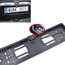 Universal Car License Plate Frame Rear View Camera HD Car For European Cars EU Car Number Frame Backup Reverse Camera+Free Gifts
