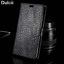 coque fundas For ZTE Blade X 3 Leather Phone Cases Crocodile Wallet Stand Leather Phone Case for ZTE Blade X3 Cover Bag Black
