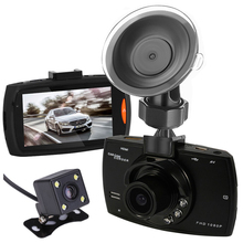 Dual Cameras Car DVR Camera G30 Dash Cam 1080P HD Video Recorder Registrator With Backup Rearview Camera Night Vision Waterproof(China)