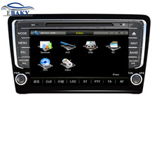 8inch Professional Wince Car Multimedia DVD Player For VW Santana 2013- low match With GPS Navigation free Map
