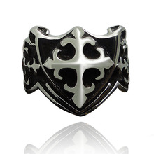 6 Design Male Punk Rings Dragon/Skull/Wolf/Cross/Claw Pattern Metal Knuckle Antique Ring For Friendship Bijoux Biker Anillos