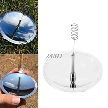Outdoor Survival Hiking Camping Solar Spark Lighter Fire Starter Emergency Tool O09(China)