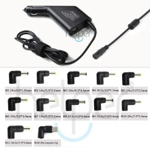 12 Tips Universal Auto-Charger for Laptop For Lenovo/Asus/Acer/Toshiba/Gateway/HP 90W Car Charger