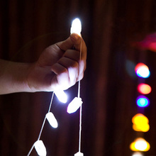 50pcs/lot LED RGB Flash Lamps Balloon Lights for Paper Lantern Balloon Light White,Change Color Christmas Wedding Decoration