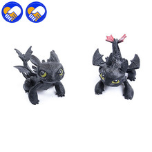 A TOY A DREAM How To Train Your Dragon 2 Night evil No Teeth Aberdeen Dragon Toothless 2 Action Figures Brinquedos Toys Juguetes(China)