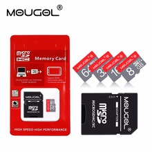 Red Tarjeta de memoria Memory Card Micro SD Card 4gb 8gb 16gb 32gb 64gb 128gb TF Card mini memory stick for Mobile Phone(China)