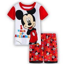 Children minnie mickey baby kids clothes nightwear pajamas for boys girls pyjamas sleepwear suit pyjamas kids sleeping suits