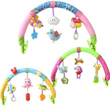 Ocean Forest Sky Baby Stroller Car Clip Lathe Hanging Seat & Stroller Toys Kid Flying Animal Educational Toy Removable