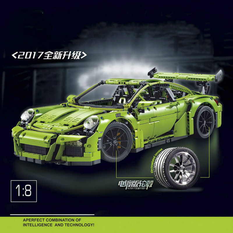 2726PC 3368 Technical Series race car Model Building Kit Mini Compatible with 42056 20001 toy lepin<br>