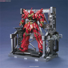 Japanese Gundam scenario building Mechanical chain base System equipped display stand robot action figure toys(China)