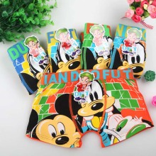 1pcs Children's underwear Boys flat underwear Cute cartoon pattern Mickey boy underwear Send birthday gift Cotton underwear