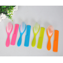 2016 Multicolor Comb For Newborns Shampoo Security  Soft Solid Brush Bath Baby Brush Hairbrush Baby Comb BSZ03