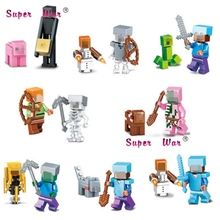 8pcs star wars superhero marvel figure building blocks action sets model bricks Baby toys for children(China)
