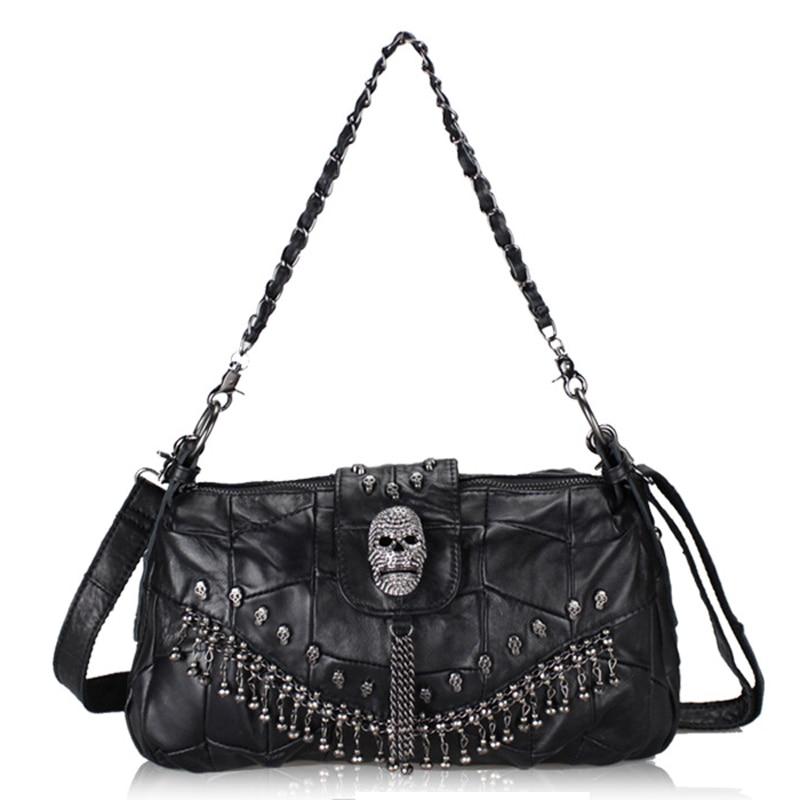 2017 new handbag Crossbody fashion sheepskin shoulder stitching leather bag chain internal interval free shipping<br><br>Aliexpress