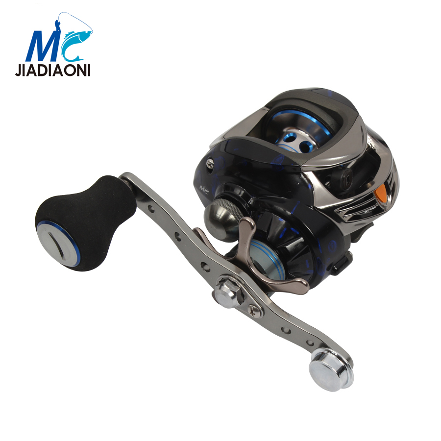 JIADIAONI Baitcasting Reel Left/Right Hand 11+1 Ball 6.3:1 Ratio Fly Fishing Reel China Water Drop Reel Single arm Fishing Reel(China (Mainland))