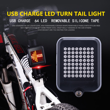 Buy LEADBIKE USB Rechargeable LED Bike Bicycle Turning Light Remote Control Rear Laser Safety Warning Light Lamp Infrared taillight for $15.97 in AliExpress store