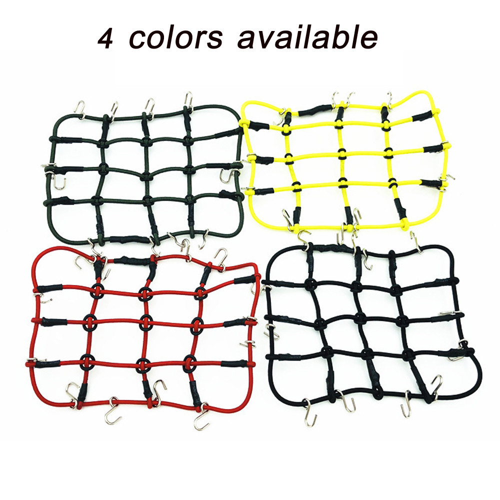 1//10 RC Elastic Luggage Net Vehicles Crawler DIY Accessory for RC Axial SCX10