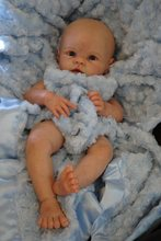 wholesale reborn doll kit  hotsale reborn supply doll kit  DIY blank kit soft  vinyl Krista