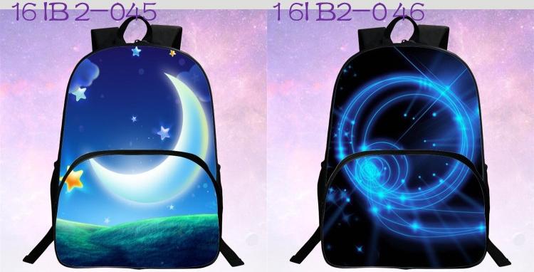 حقائب مدرسية / الكون / الفضاء/ 24 لوان للبنات 10
