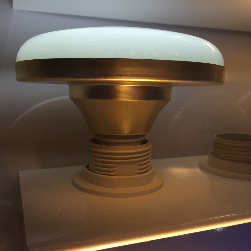 2PCS NEW product UFO Flying Saucer Mushroom lamp Household lamps Waterproof E27 bulb saving lamps<br>
