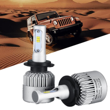 H1 H4 H7 CSP COB Car Led Headlight 12V H11 H3 HB4 Fog Light car styling Headlamp Bulb Auto for BMW Volkswagen Toyota Automobiles(China)