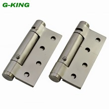 Stainless steel spring hinge door self closing hinge positioning windproof hinge invisible door hinge spring positioning