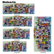 Babaite Pattern DIY Custom Made Durable Gaming Anti-slip Silicone Mouse Pad Dragon Ball Art Game oft Rubber Mice Play Mats