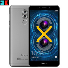 Huawei Honor 6X Global Firmware 3GB 32GB BLN-TL10 4G LTE Mobile Phone Hisilicon Kirin 655 Octa Core Dual Rear Camera 5.5''