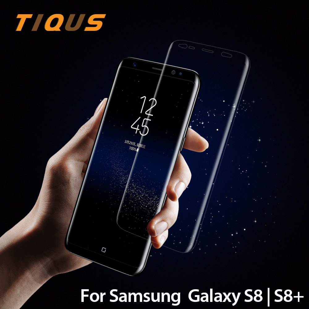 TIQUS Soft Screen Protector for Samsung Galaxy S8 Case Friendly Full Cover Flex TPU Film for Galaxy S8 Plus (Not Tempered Glass)(China (Mainland))