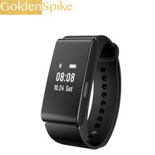 GoldenSpike M8 Smart Bracelet Talk Band Bluetooth Headset Support Pedometer wristband Sleep Monitor for Android Ios Phone