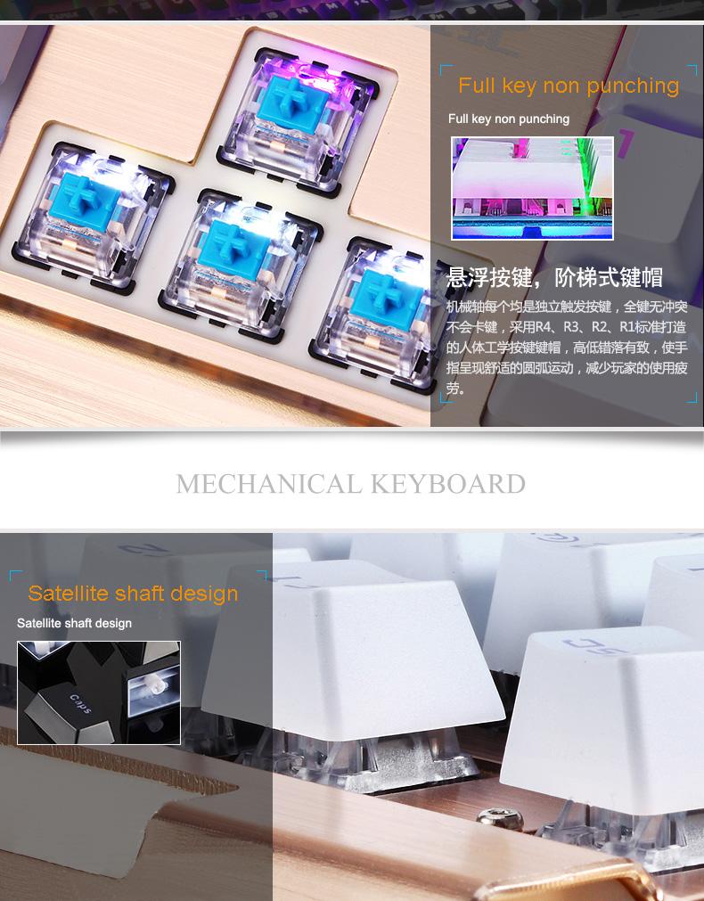 HTB1AJXaSFXXXXcKaXXXq6xXFXXXC - Newest Mechanical Keyboard 104 keys Blue Black Switch LED Backlight USB Gaming Keyboard Mouse Combo for PC Games Teclado