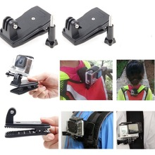 Belt Bag Cap Clip Clamp Mount For Gopro Hero4 Black/Silver session 3+/3/2 for xiaomi yi 4k sj5000 sj6000 accessories(China (Mainland))
