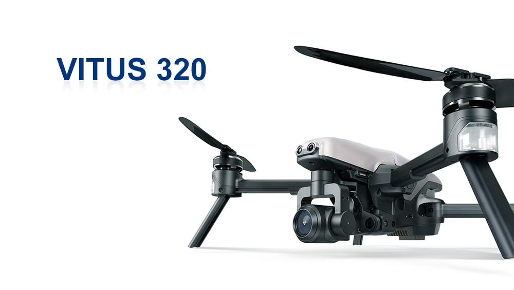 2017 Walkera VITUS 320 5.8G Wifi FPV with 3-Axis 4K Camera Gimbal Obstacle Avoidance AR Games Drone VS DJI MAVIC Pro Spark