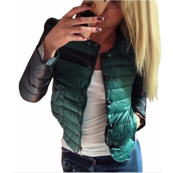2017 New Winter Jacket Women Fashion Candy Color Autumn Women Coat Slim Short Cotton-padded Jacket Outerwear winter coat womenОдежда и ак�е��уары<br><br><br>Aliexpress
