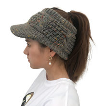 7fdb578bf37 Feitong Winter Warm Women Cap Causal Twist Peaked Cap Knit Wool Hat Hollow  Out Multicolor Point