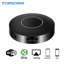 FORNORM Wireless Display Receiver 1080P Wireless Display Dongle WIFI Mirroring Device HD AV Output for Computer Projector TV(China)