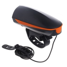 Electronic Bike Bell Ring 110db Cycling Bicycle Horn Speaker Bike Lights outdoor