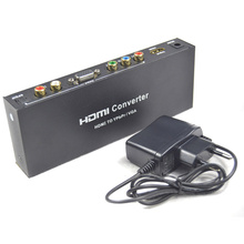 BrankBass HDMI Signal to Component or VGA with Digital SPDIF and Analog Audio Output