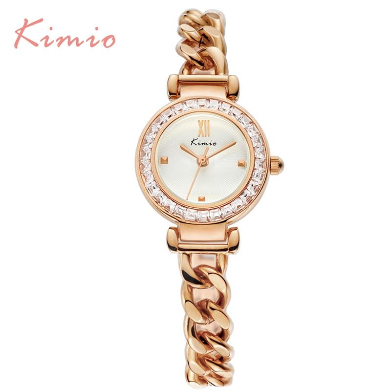 2017 Kimio Luxury Fashion Womens watches Quartz bracelet wristwatches Twisted design Diamond women ladies watches with Gift Box<br><br>Aliexpress