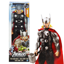 Ultimate Marvel Avengers Thor Action Figure Brinquedos Collectible Model Toy 30cm